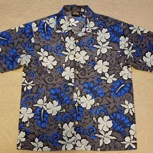 💚ODO Aloha Shirt size L